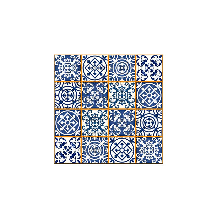 کاشی هفت رنگ دیواری کد: MP-11