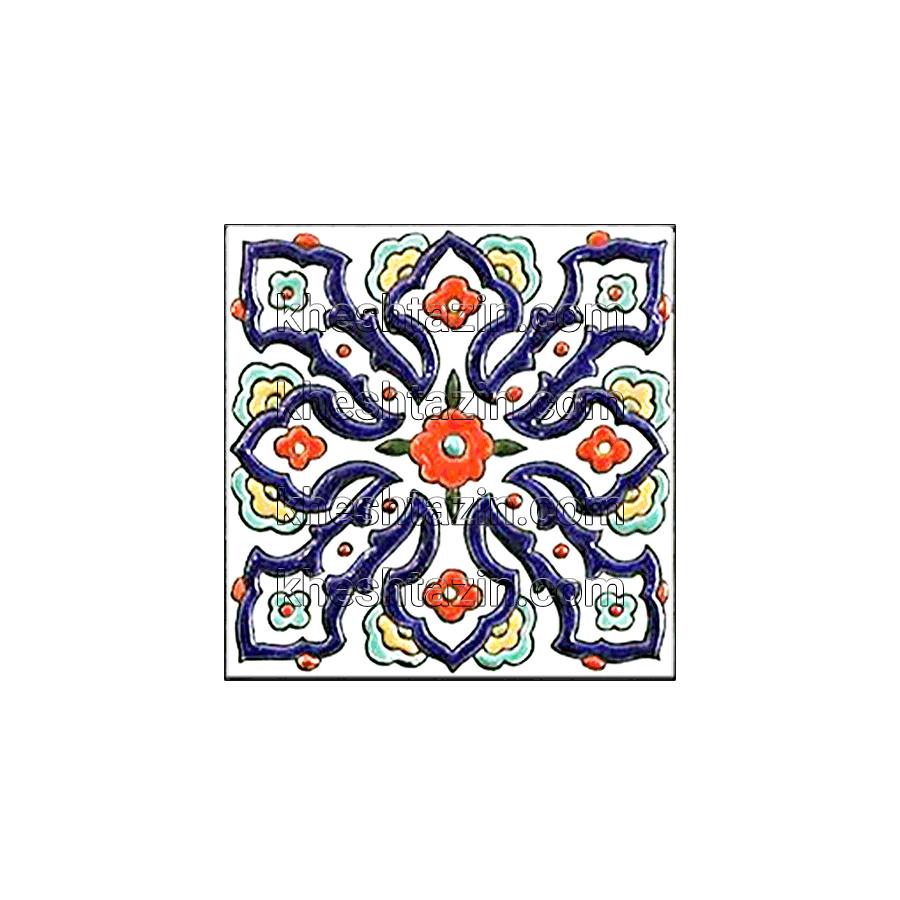 کاشی هفت رنگ دیواری کد: MP-16