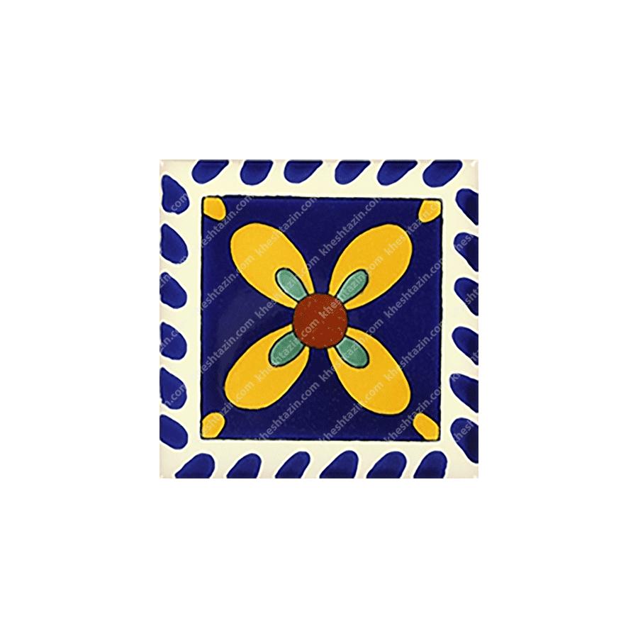 کاشی سنتی طرح مکزیکی کد: 1362
