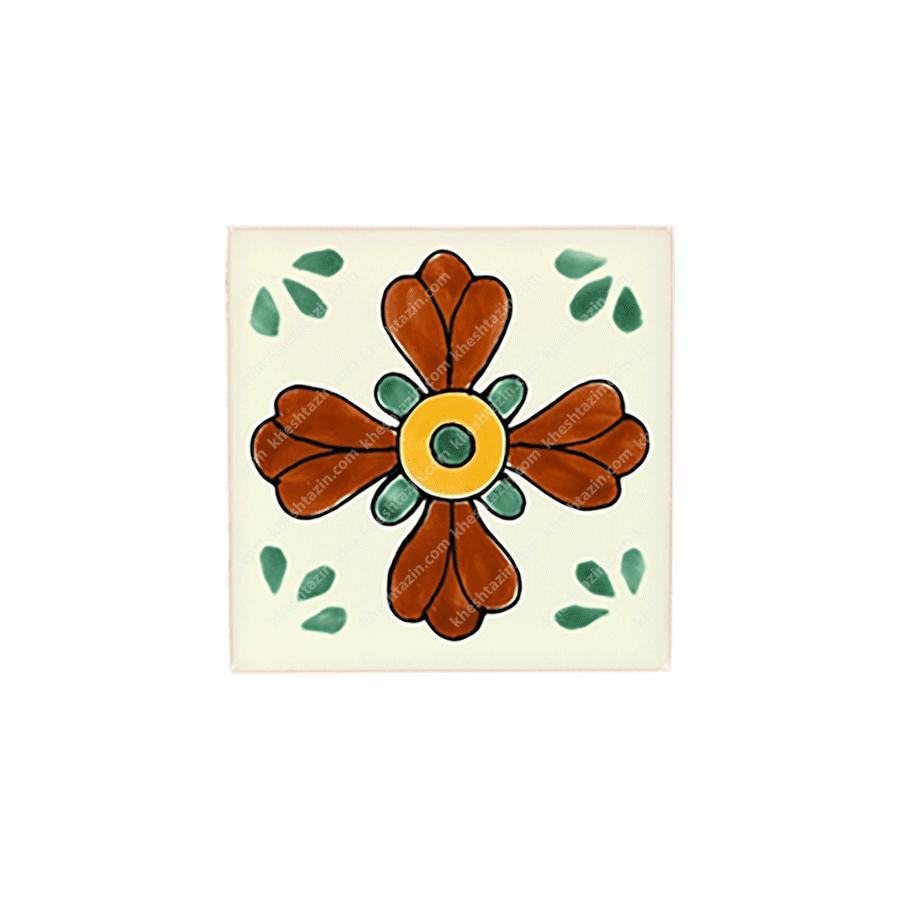 کاشی سنتی طرح مکزیکی کد: 1319