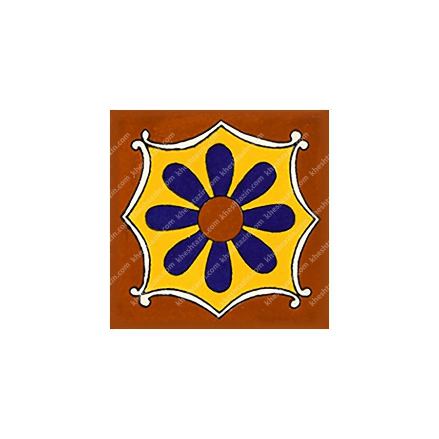 کاشی سنتی طرح مکزیکی کد: 1366