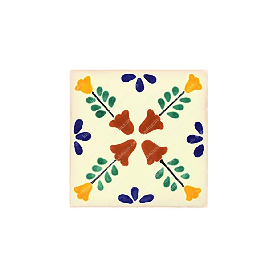 کاشی سنتی طرح مکزیکی کد: 1321