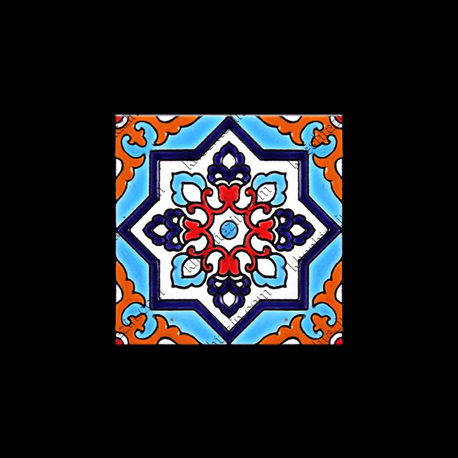 کاشی هفت رنگ دیواری کد: TP-142