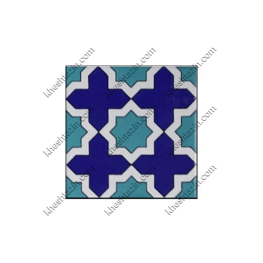 کاشی هفت رنگ طرح هندسی کد: TP-301